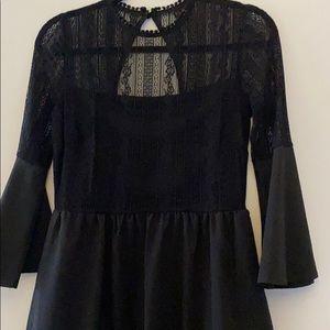 Wanderlux Lace Top Dress